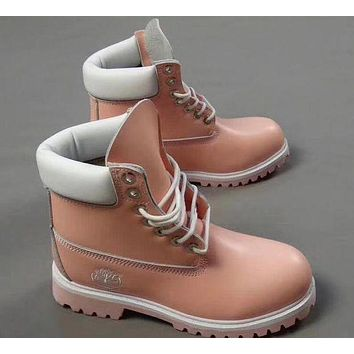 Timberland Fashion Winter Waterproof Boots Martin Leather Boots Shoes I
