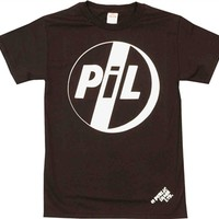 Public Image Ltd Logo Shirt at OldSchoolTees.com | More Rock Tees and other Movie, Vintage, Graphic Tees available from Old SchoolTees.com