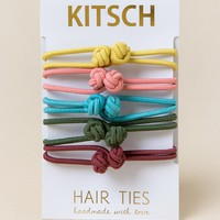 Halle Knotted Hair Ties by Kitsch