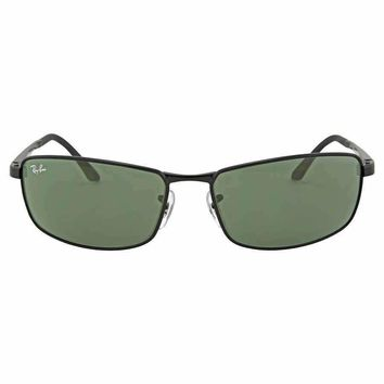 Ray Ban RB3498 Green Classic Sunglasses RB3498 002/71 61-17 RB3498 002/71 61-17
