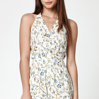 Kendall and Kylie Braided Halter Neck Romper at PacSun.com