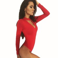 Fashion Sexy JumpsuitWomens Body Suits and Leotards Sexy Club, Work Out and Casual Bodysuit
