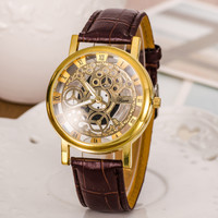 Hot Vintage Fashion Quartz Classic Watch Round Ladies Women Men wristwatch On Sales = 4673083140