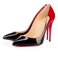 Pigalle Follies 100mm Black Red Patent