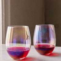 Lustre Stemless Glasses Set - Urban Outfitters