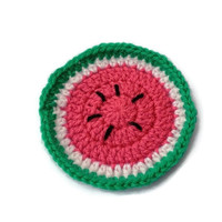Watermelon Retro Fruity Coasters - Individually Sold!  - Lemons, Strawberries, Apples, Kiwi Fruit, Cup Holder, Undersitter