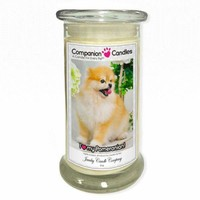 I Love My Pomeranian! - Pet Photo Companion Candles - Pet Lover Gifts