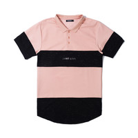 Dolphin Classic Polo in Faded Coral – Pink+Dolphin
