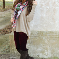 My Only Hope Sweater: Taupe