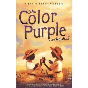 The Color Purple 27x40 Broadway Show Poster