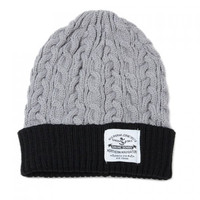 Embellished Flanging Knitted Beanie For Men
