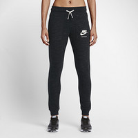The Nike Sportswear Gym Vintage Women's Logo Joggers.
