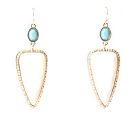 Get To The Point Earrings - White