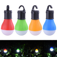 3 LEDs Outdoor Camping Tent Hanging Adventure Lanters Lamp