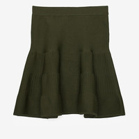 Exclusive for Intermix Fit & Flare Ribbed Seam Inset Skirt-Just In-Clothing-Categories- IntermixOnline.com