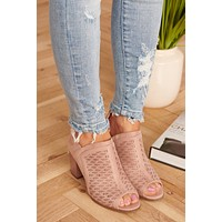 Party Crasher Booties (Mauve)