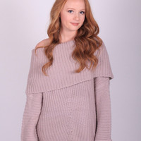 The Elise Sweater (Lavendar)