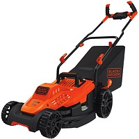 Electric Lawn Mower, 10 -Amp, 15-Inch, 7 pounds.