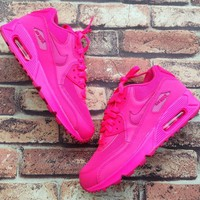 Tagre™ Nike Air Max 90 Women Sport Casual Solid Color Air Cushion Sneakers Running Shoes