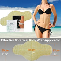NUTRIHERBS 3 Body Wraps Applicators! Most Effective! Works in Just 45 Minutes! Detox, Tone, Firm, Reduces Appearance of Cellulite and Stretch Marks Smooth Stomach, Legs, Arms