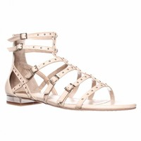 Vince Camuto Hevelli Gladiator Ankle High Sandals, Barely There