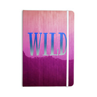 "Catherine McDonald ""Wild"" Pink Purple Everything Notebook"