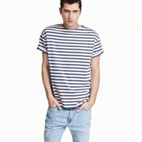 H&M Boat-neck T-shirt $14.99