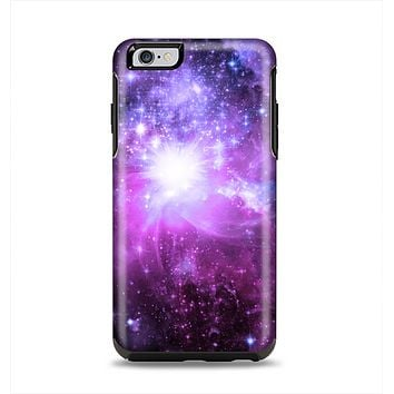 The Purple Space Neon Explosion Apple iPhone 6 Plus Otterbox Symmetry Case Skin Set