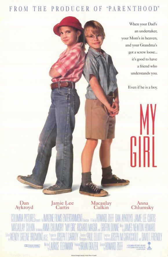 Image of My Girl 11x17 Movie Poster (1991)