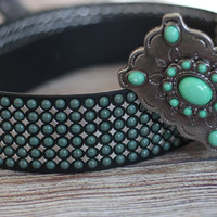 Stockyard Sweetheart Studded Belt
