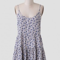 Calm Morning Tiered Dress