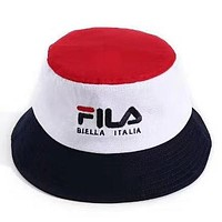 FILA street fashion men and women outdoor leisure shade fisherman hat #3