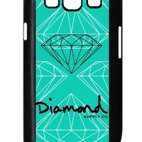 Diamond Supply Co HD image case cover for Samsung Galaxy S3 I9300 black A Nice Present