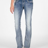 Miss Me Crystal Boot Stretch Jean
