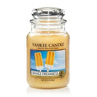 Orange Dreamsicle : Large Jar Candles : Yankee Candle