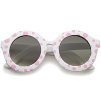Valley City X zeroUV Retro Round Spunky Sunglasses A539