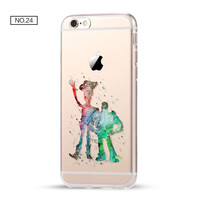 Toy Story Clear Soft Disney Phone Case For iPhone 7 7Plus 6 6s Plus 5 5s SE C