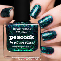 Picture Polish Peacock Nail Polish