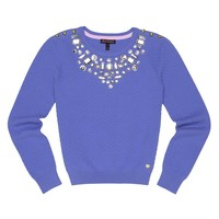 Bluebell Embellished Pullover by Juicy Couture,