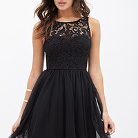 Crochet & Tulle Dress