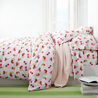 Cherries Percale Bedding