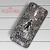 A day to remember black white art -54R for iPhone 6S case, iPhone 5s case, iPhone 6 case, iPhone 4S, Samsung S6 Edge