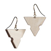 Architects' scale earrings