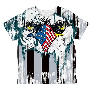 Patriotic Eagle of Philly All Over Toddler T Shirt
