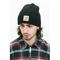 Anglistic Beanie in Black Heather