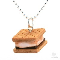 Scented Smores Necklace