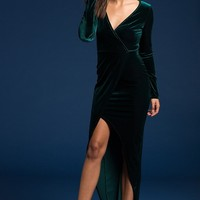 New Christmas Green Velvet Party Dresses Sexy Club Winter Dress 2017 Women Maxi Dress Robe Wine Velvet Dress Vestido Largo