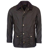 Ashby Waxed Jacket in Olive by Barbour