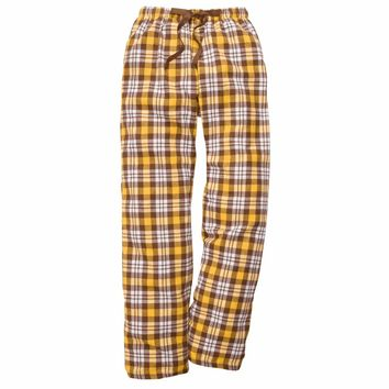 Boxercraft Brown and Gold Flannel Pant