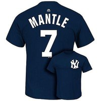 NWT - New York Yankees Mickey Mantle Cooperstown T-Shirt- Men's Sizes 2XL XL L M